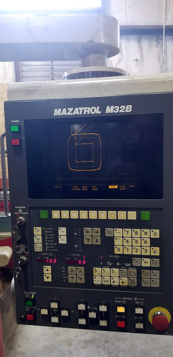Mazak V414 1991 2