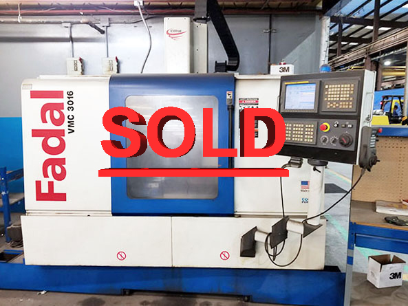 Used Fadal Vertical Machining Center 3016HT For Sale
