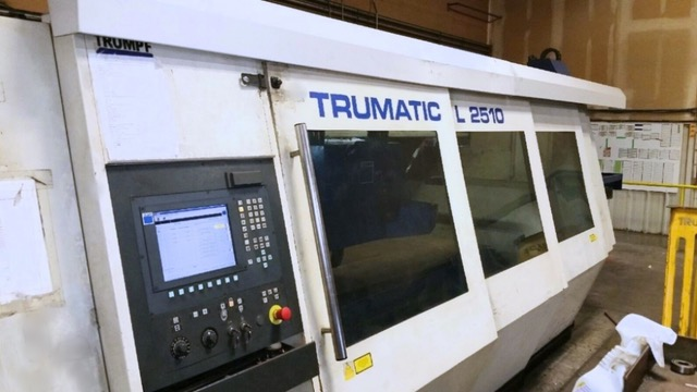 Used Laser Cutting Machine Trumpf Trumatic L2510 2004
