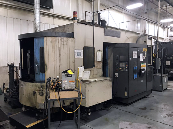 Used Horizontal Machining Center Toyoda FA 550 II 1999
