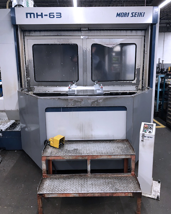 Used Horizontal Machining Center Mori Seiki MH-63 1995