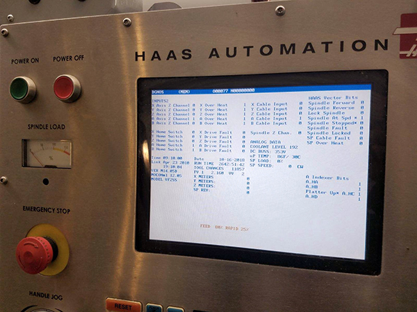 Haas VF-2SS 2005 11_Vertical Machining Center