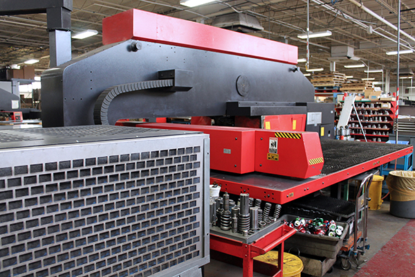 Used Turret Punch Amada vipros 358 king 1997