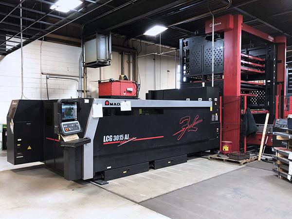 Used Laser Cutting Machine Amada LCG 3015 AJ 6KW Fiber 2016