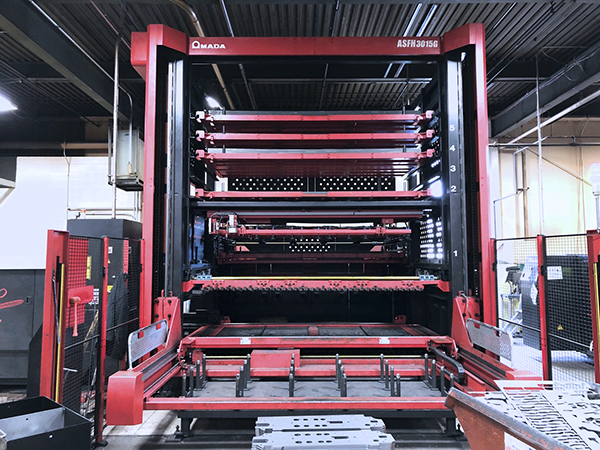 Used Laser Cutting Machine Amada LCG 3015 AJ 6KW Fiber 2016