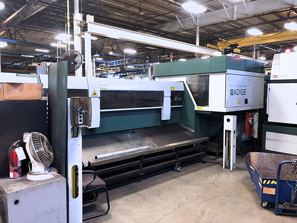Used Laser Cutting Machine BLM Adige LT8 2008