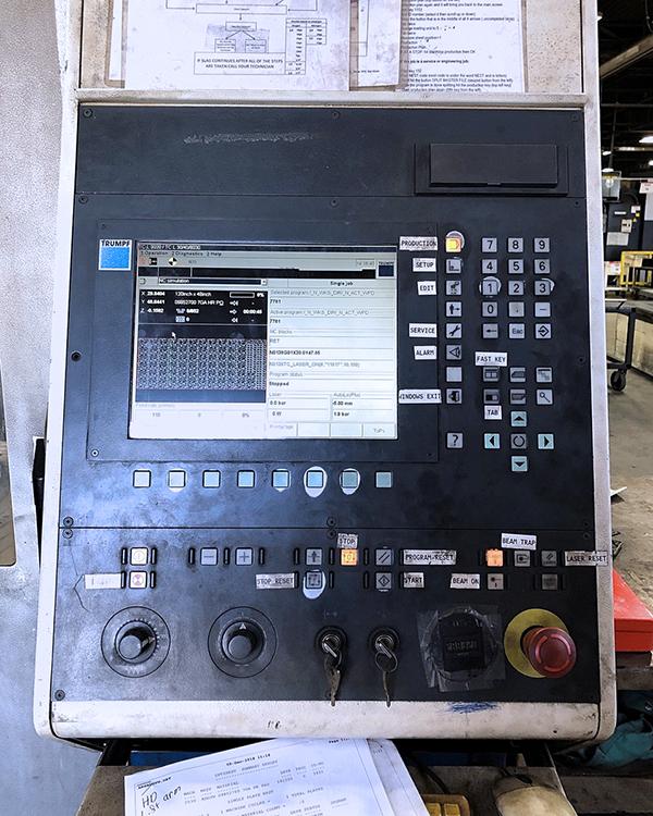 Trumpf Trumatic L3030 2005 5