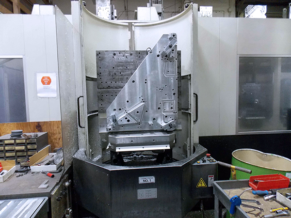 Used Horizontal Machining Center Mazak HCN-6800 2008