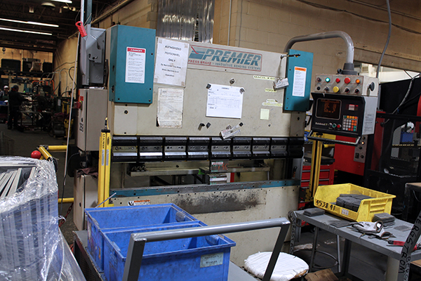 Used Hydraulic Press Brake Premier 540-R-LQ 1998