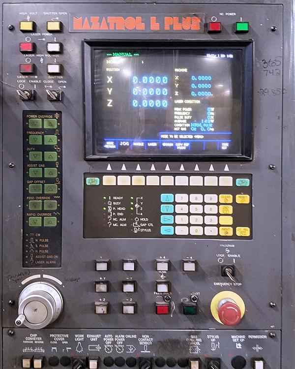 Mazak Super Turbo-X48 Hi-Pro Supercharger 1998 1998 2