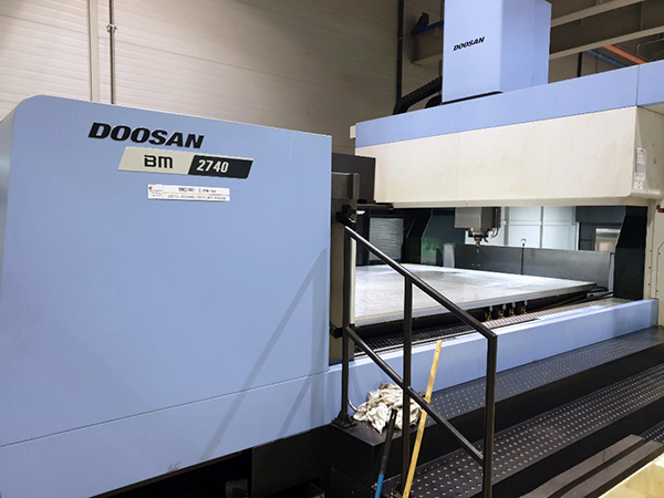 Used Gantry Machining Center Doosan BM2740 2016