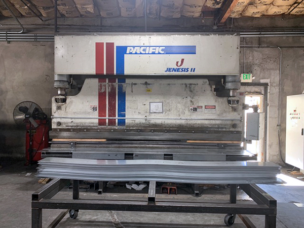 Used Hydraulic Press Brake Pacific J175-14 II 1990