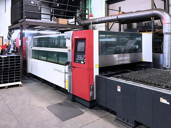 Mitsubishi ML3015eX Plus 45CF-R 2012 2_Laser Cutting Machine
