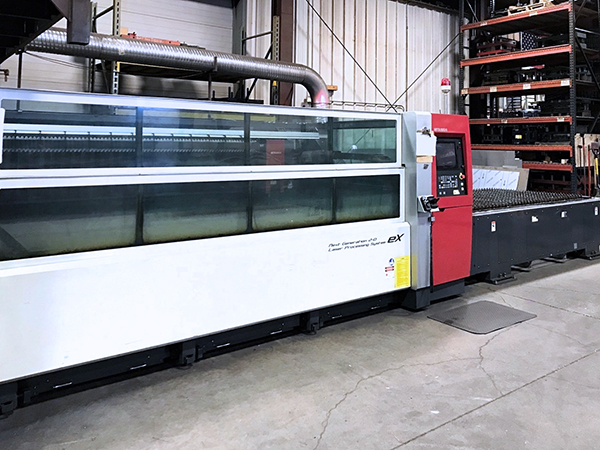 Mitsubishi ML3015eX Plus 45CF-R 2012 2_Laser Cutting Machine