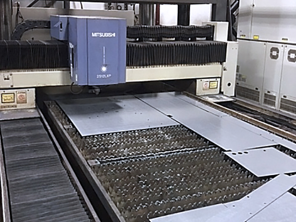 Used Laser Cutting Machine Mitsubishi ML2512 LXP 1998