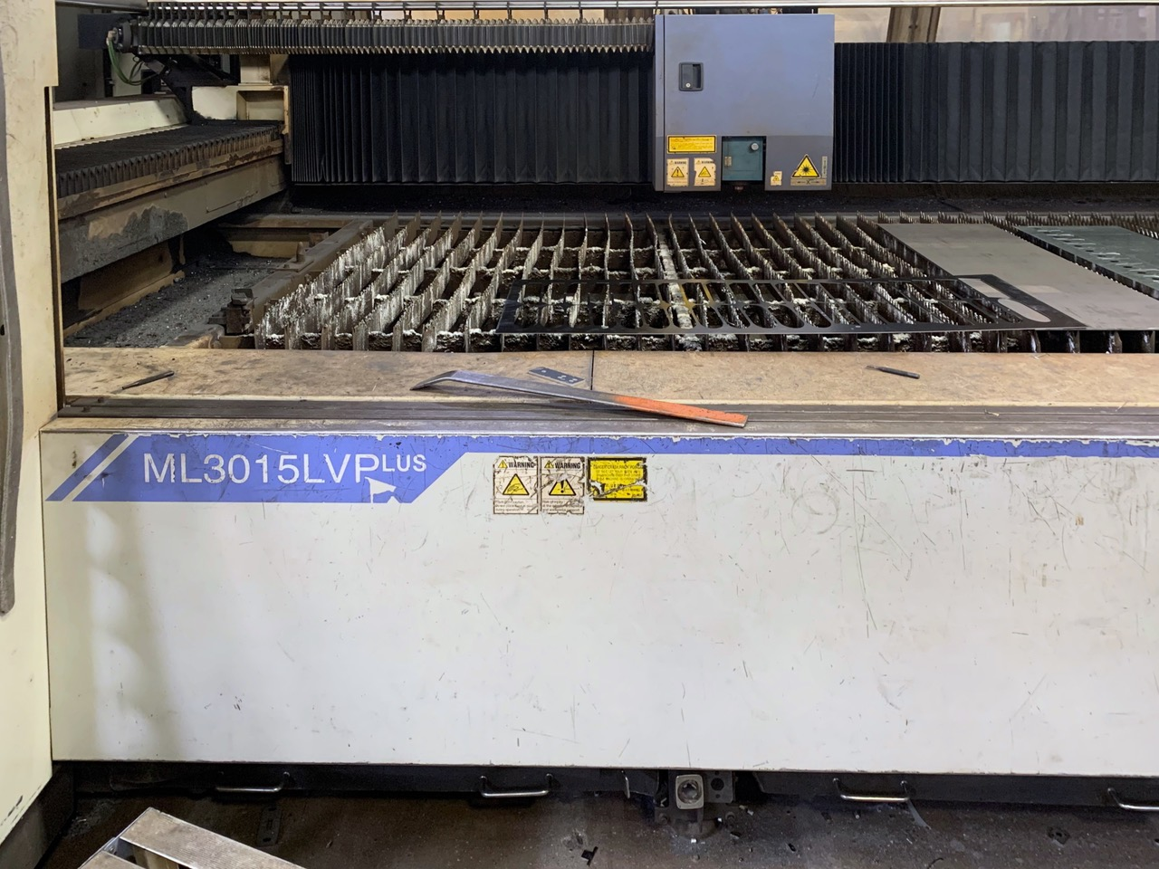Mitsubishi ML3015 LVP 2006 4_Laser Cutting Machine