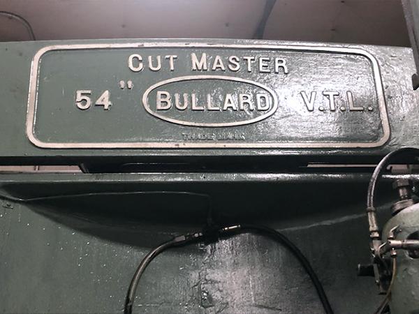 Bullard cutmaster 54 1950 5