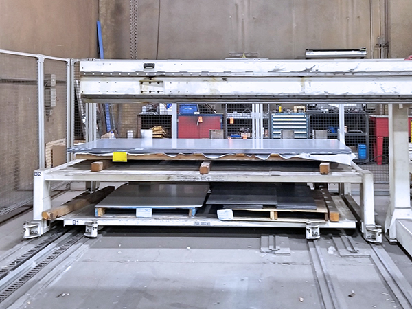 Used Turret Punch Trumpf Trumatic 6000L 2004