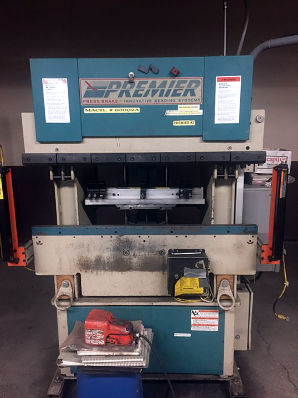 Used Hydraulic Press Brake Premier 425-R-LC 1999
