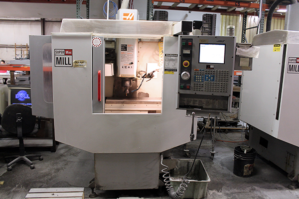 Haas Super Mini Mill 2003 2
