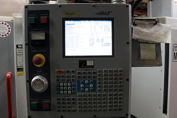 Haas Super Mini Mill 2003 5