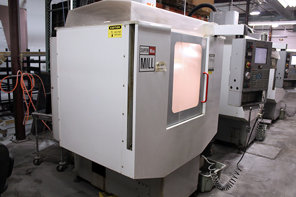 Haas Super Mini Mill 2003 6