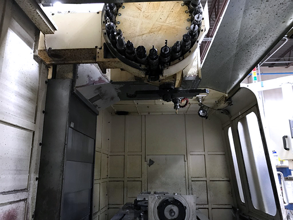 Used Vertical Machining Center Amera-Seiki VAS-6M 2004