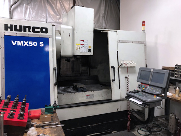 Used Vertical Machining Center Hurco VMX50 S 2002