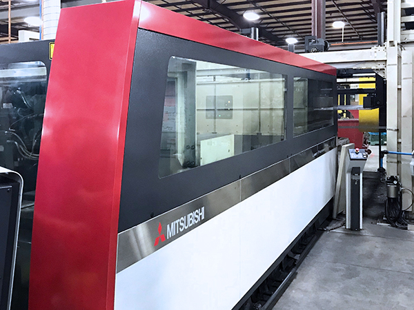 Used Laser Cutting Machine Mitsubishi i ML 3015 NX 60XF 2011