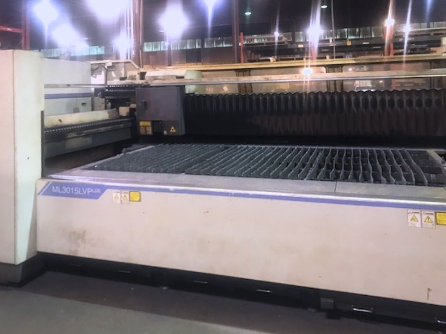 Used Laser Cutting Machine Mitsubishi ML3015 LVP(S) 2007