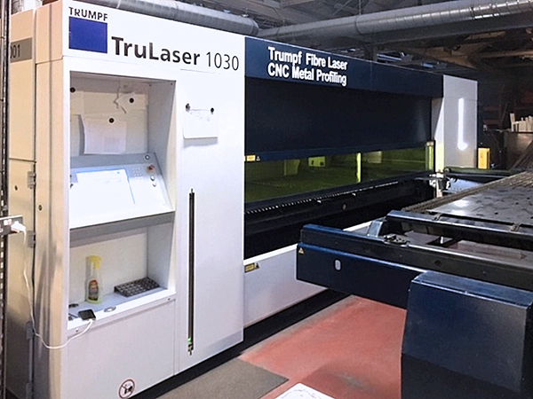 Used Laser Cutting Machine Trumpf TruLaser 1030 Fiber 2015