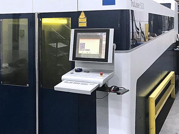 Used Laser Cutting Machine Trumpf Trulaser 5030 Fiber 2010