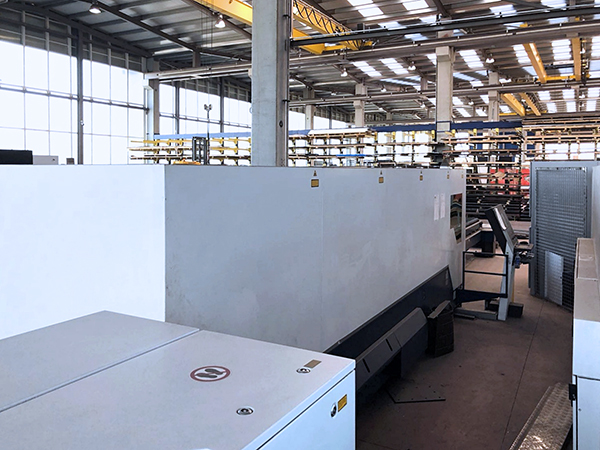 Used Laser Cutting Machine Trumpf TruLaser 7040 Fiber 2013