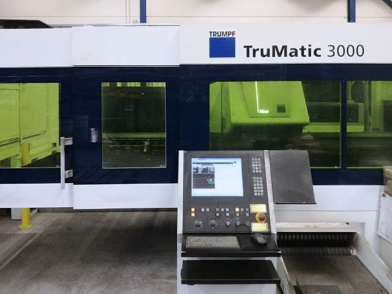 Used Turret Punch Trumpf Trumatic 3000 Fiber 2012