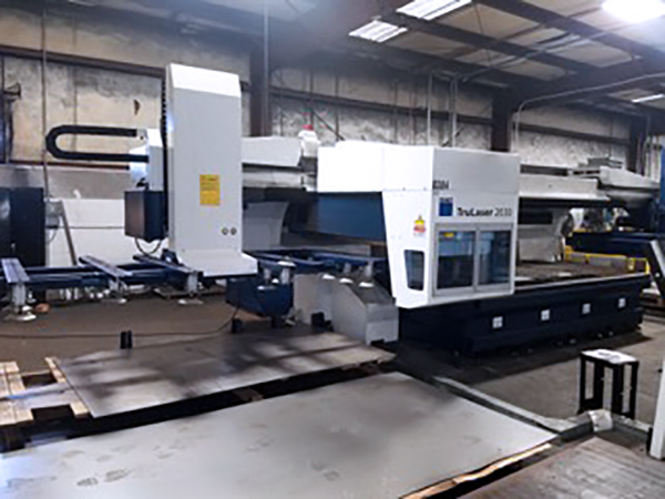 Used Laser Cutting Machine Trumpf TruLaser L2030 3.2 KW 2012