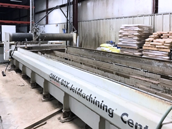 Used Water Jet Omax 80X-1 2012