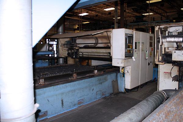 Used Laser Cutting Machine Mazak turbo-x510 hi-pro 1993