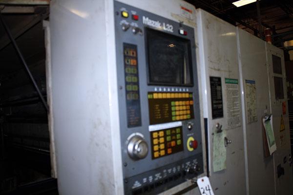 Mazak turbo-x510 hi-pro 1993 4