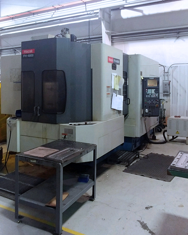 Used Horizontal Machining Center Mazak FH-4800 2000