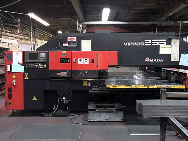 Used Turret Punch Amada Vipros 255 1998