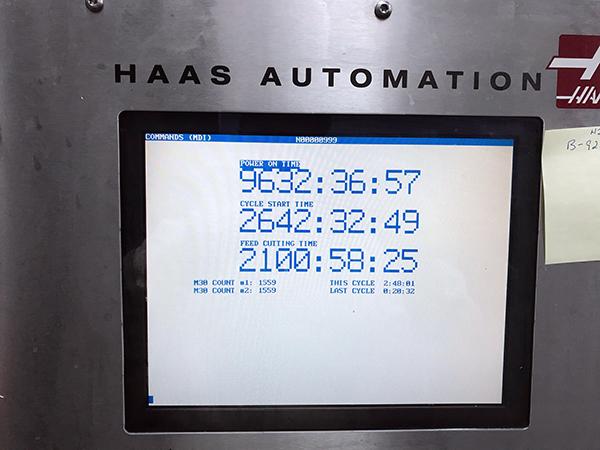 Haas EC-1600 2005 9