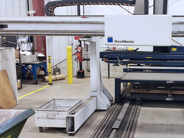 Used Turret Punch Trumpf TruPunch 3000 MF 2012