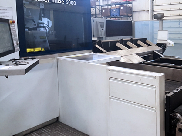Used Laser Cutting Machine Trumpf TruLaser Tube 5000 (CO2) 2015