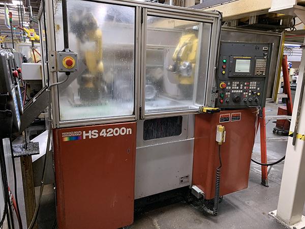 Used CNC Lathe Kitako HS4200N 2007