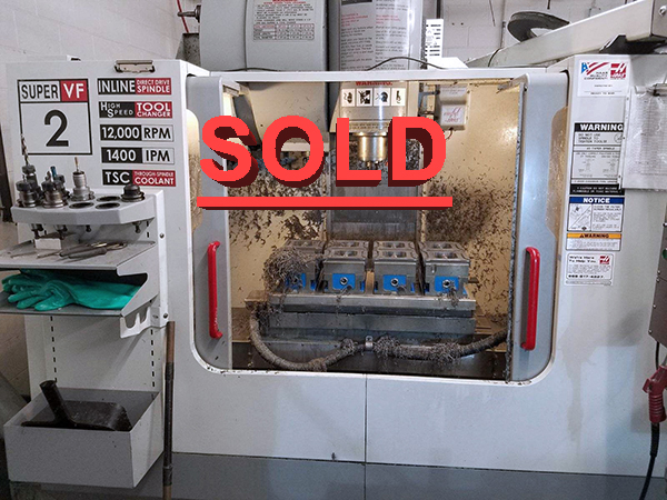 Haas VF-2SS 2005 7_Vertical Machining Center