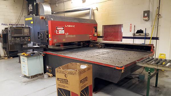 Used Laser Cutting Machine Amada Lasmac 2415 1999