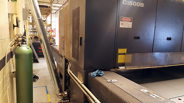 Used Laser Cutting Machine Amada Lasmac 2415 1999