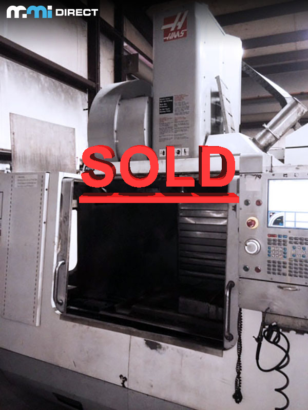 Used Vertical Machining Center For Sale Haas VF-3YT/50 2008 7