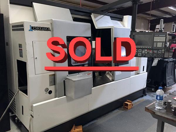 Used CNC Lathe For Sale Okuma LB3000EX II 2014 11