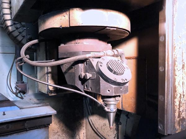 Used Laser Cutting Machine Mazak 3D Fabri Gear 300 2001
